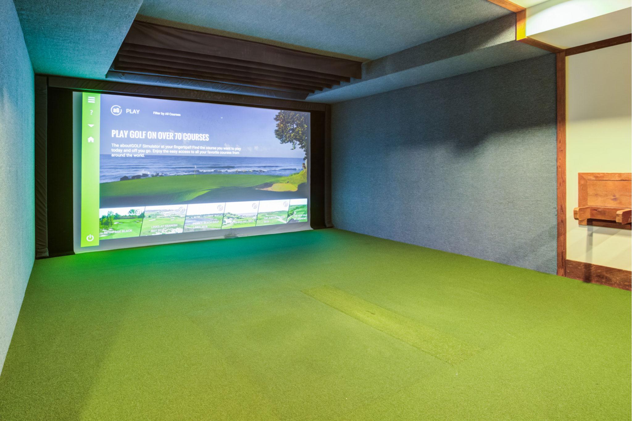 College Town Oxford Golf Simulator