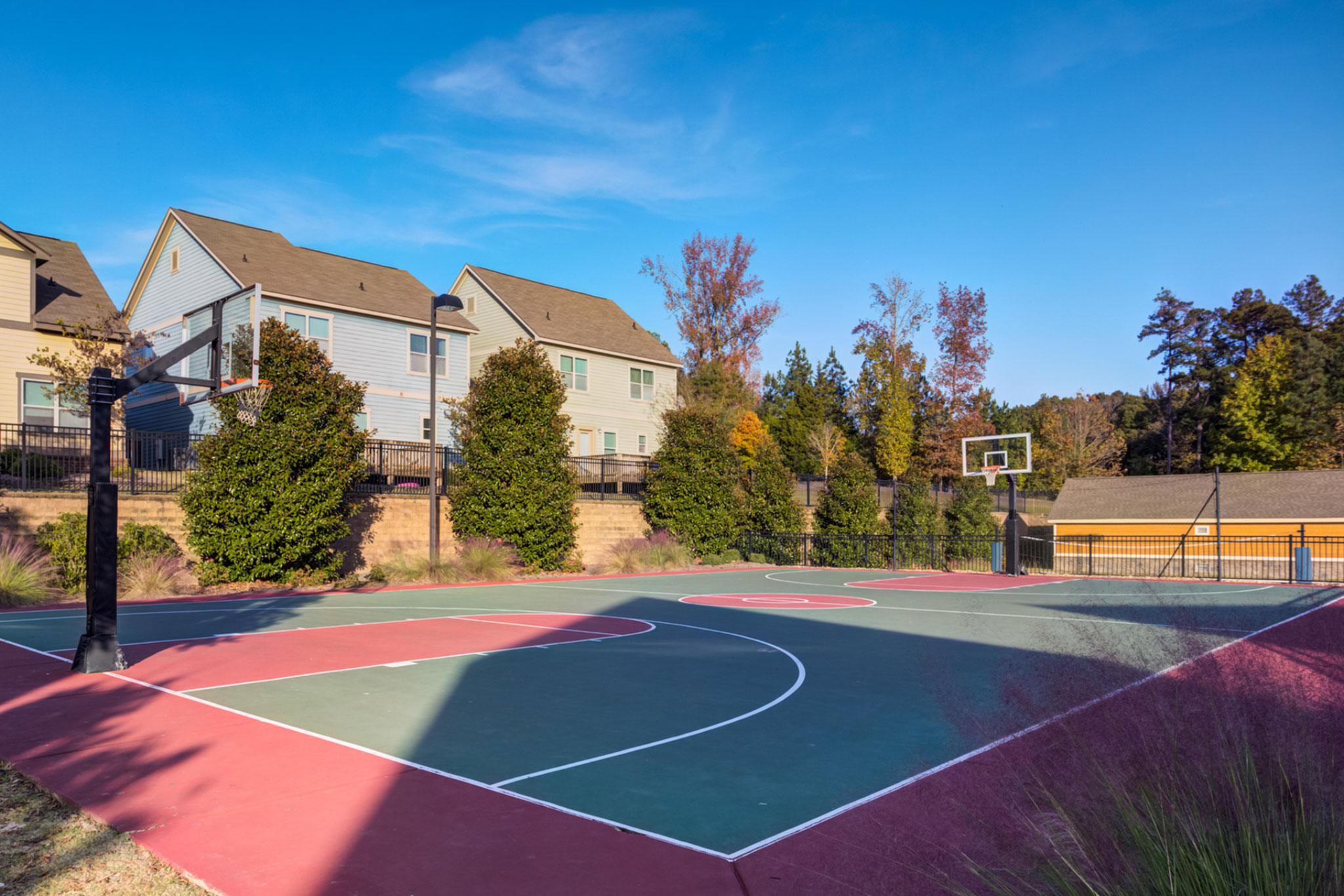 College Town Oxford Outdoor Basketball Court