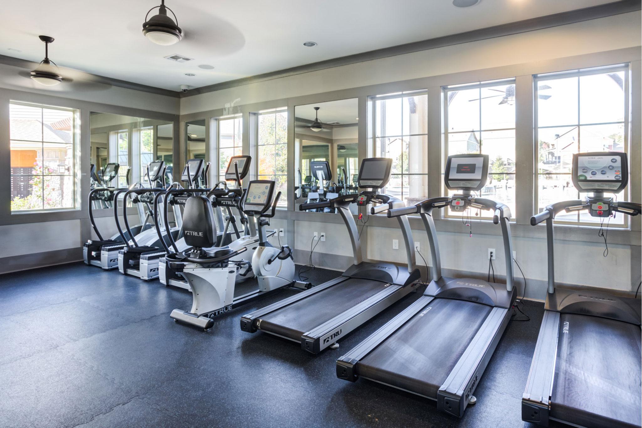 College Town Oxford Fitness Center Treadmills