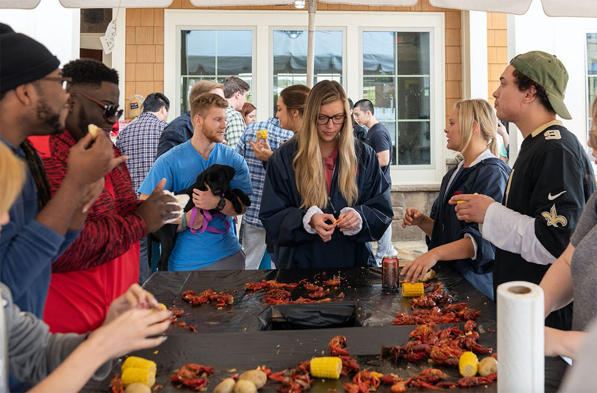 College Town Oxford Crawfish Boil